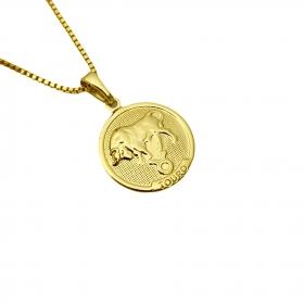 Pingente Signos (2,1cmX1,8cm) (Banho Ouro 24k)