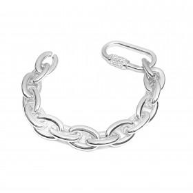 Pulseira Chain 13mm (Banho Prata 925)
