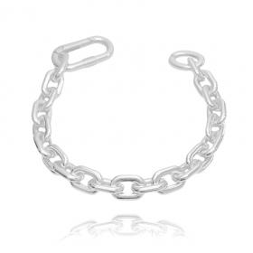 Pulseira Chain Elo 10mm (11,4g) (Banho Prata 925)