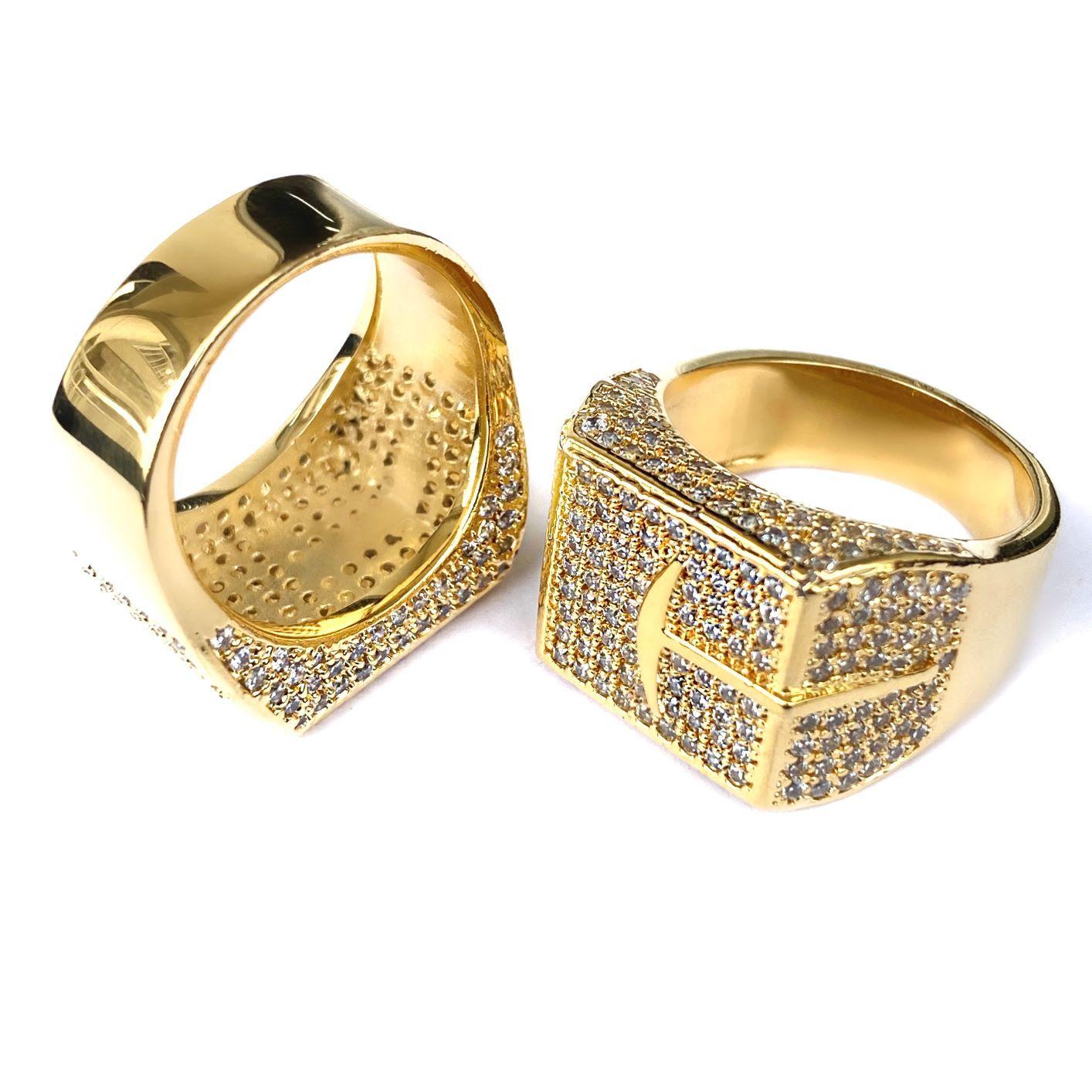 "Anel Garimpo ""Big Ring"" (Banho Ouro 24k)"