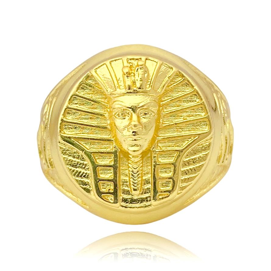Anel GDO Faraó (9g) (Banho Ouro 24k)
