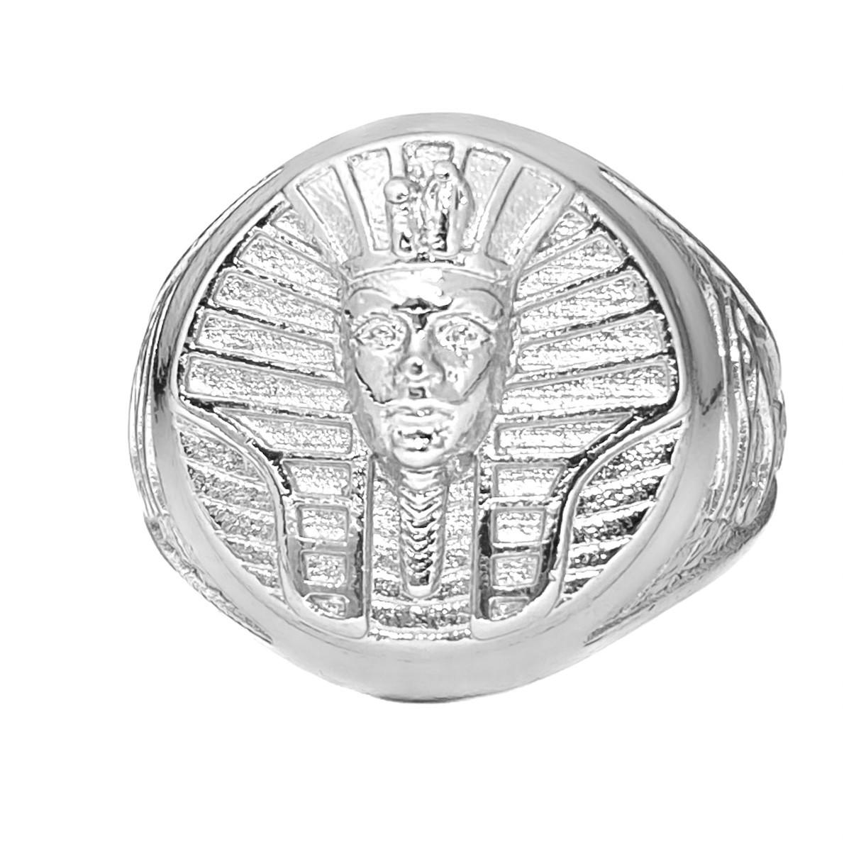 Anel GDO Faraó (9g) (Banho Prata 925)