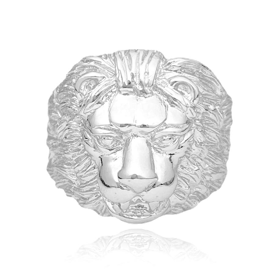 Anel Leão 11g (Banho Prata 925)