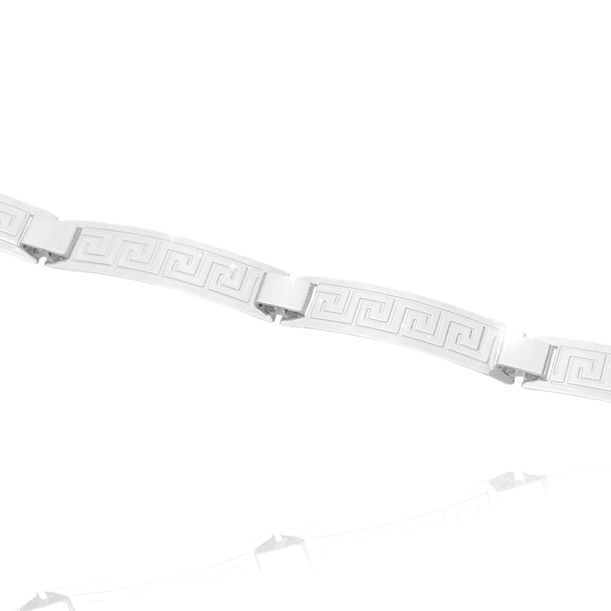 Bracelete Medusa 7mm (10g) (Banho Prata 925)