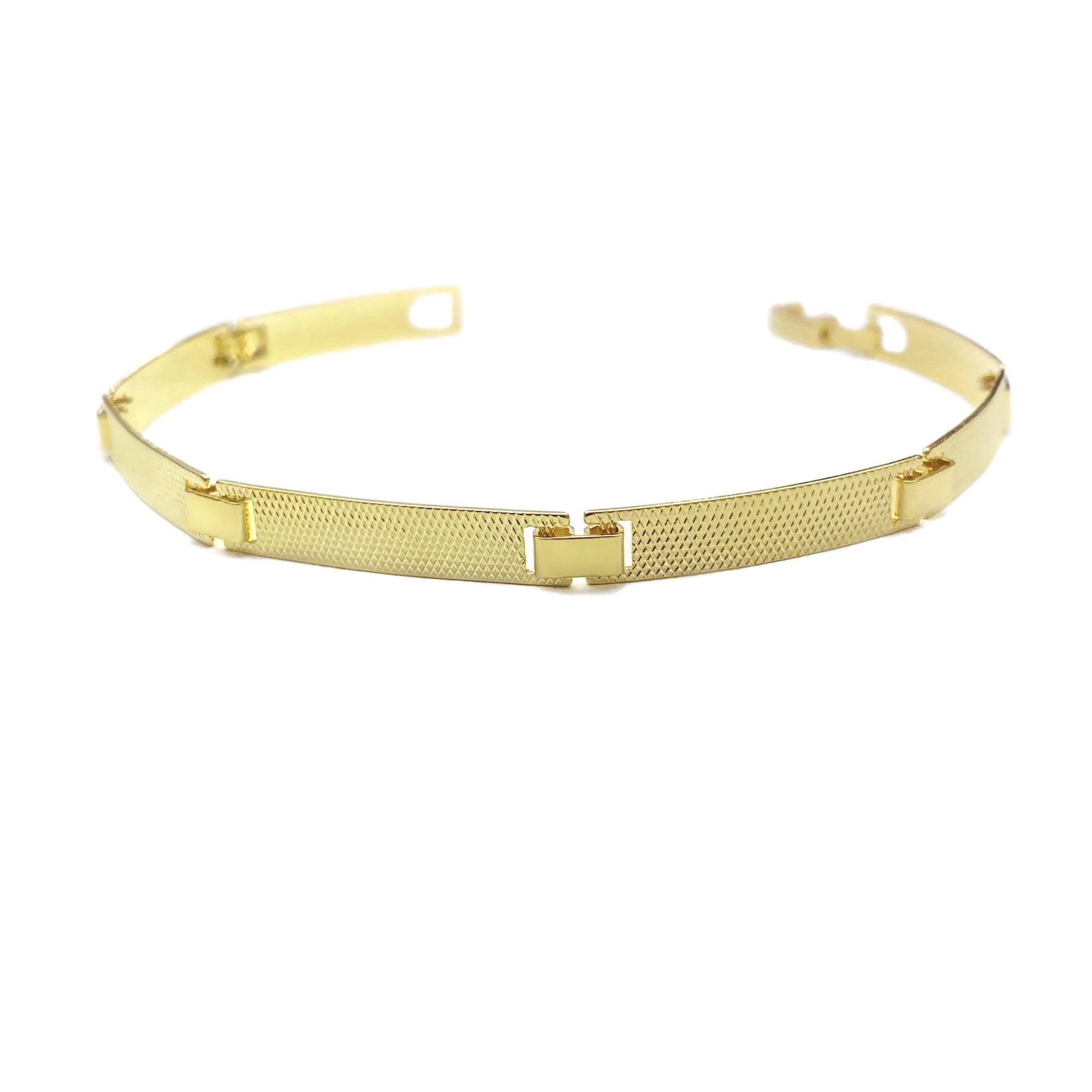 Bracelete Texturizado 5mm 6g