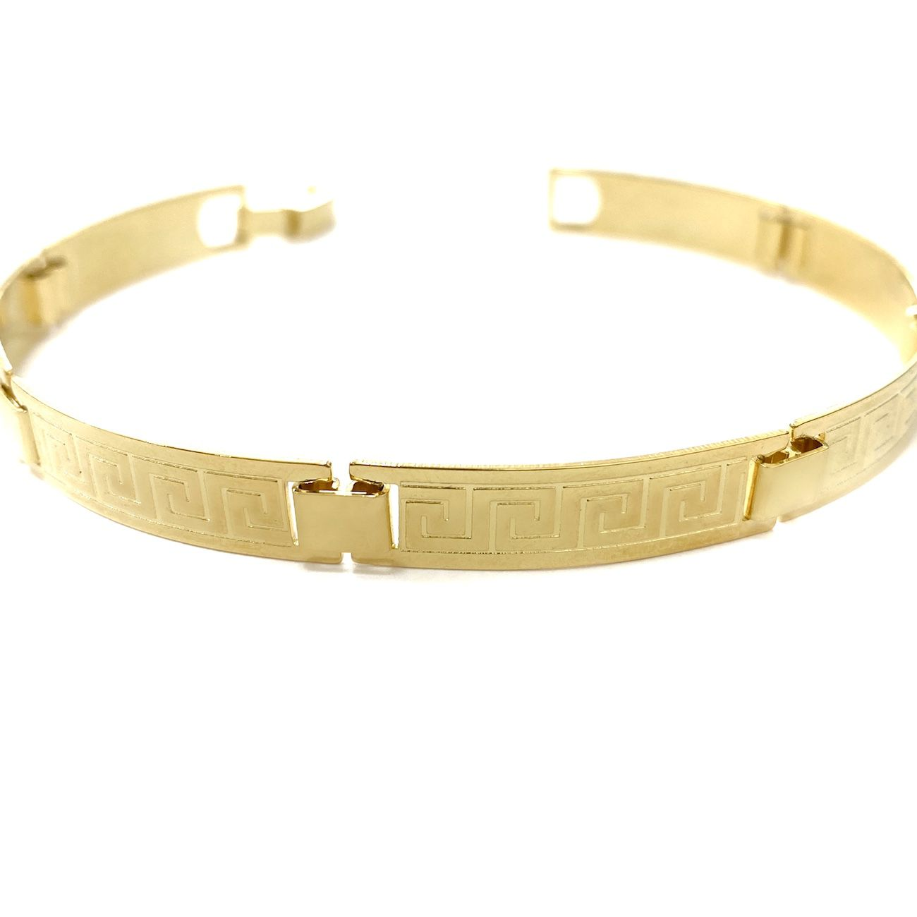 Bracelete Medusa 7mm 11g (Banho Ouro 24k)