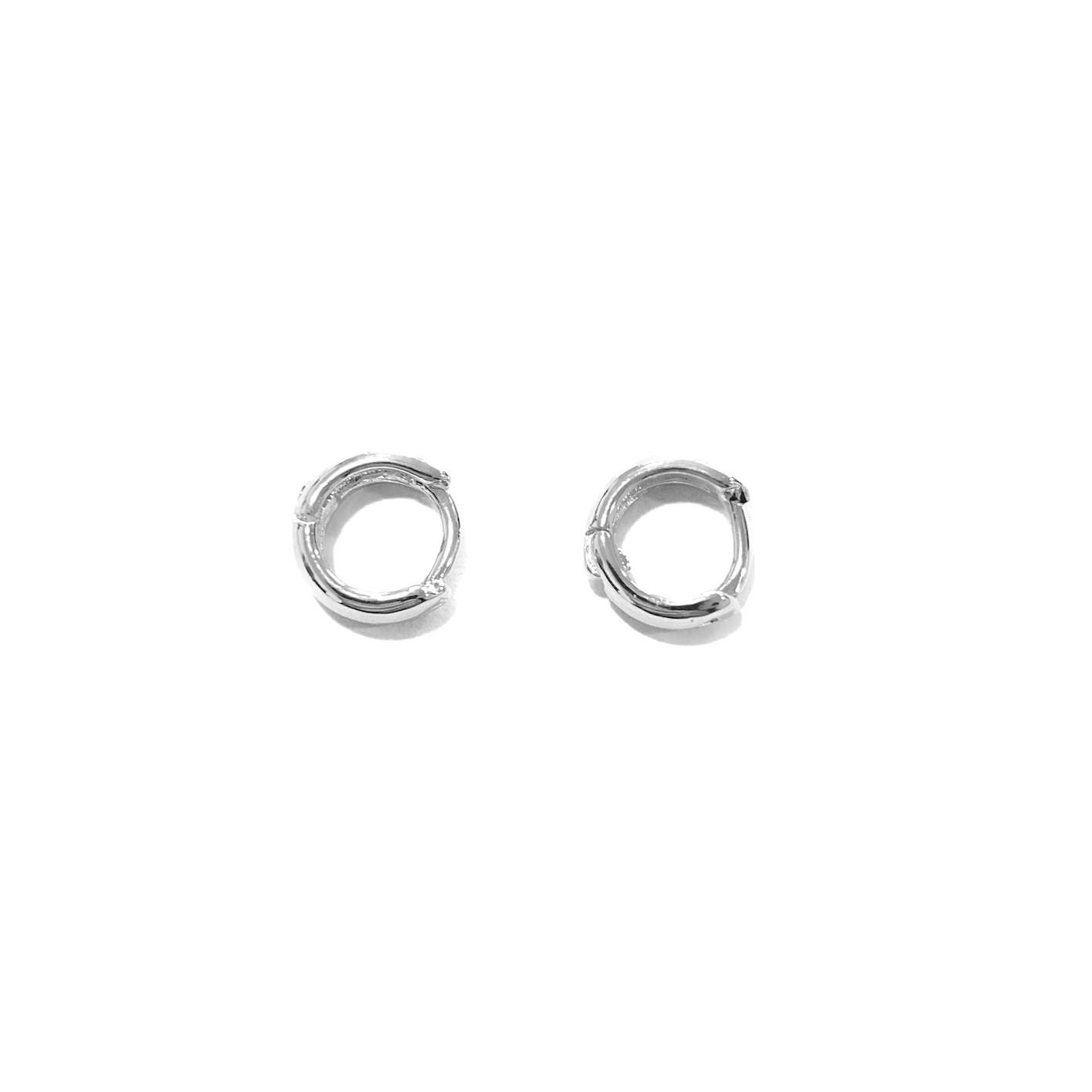 Brinco Argola Anatômica P (Banho Prata 925) (Piercing Hélix)