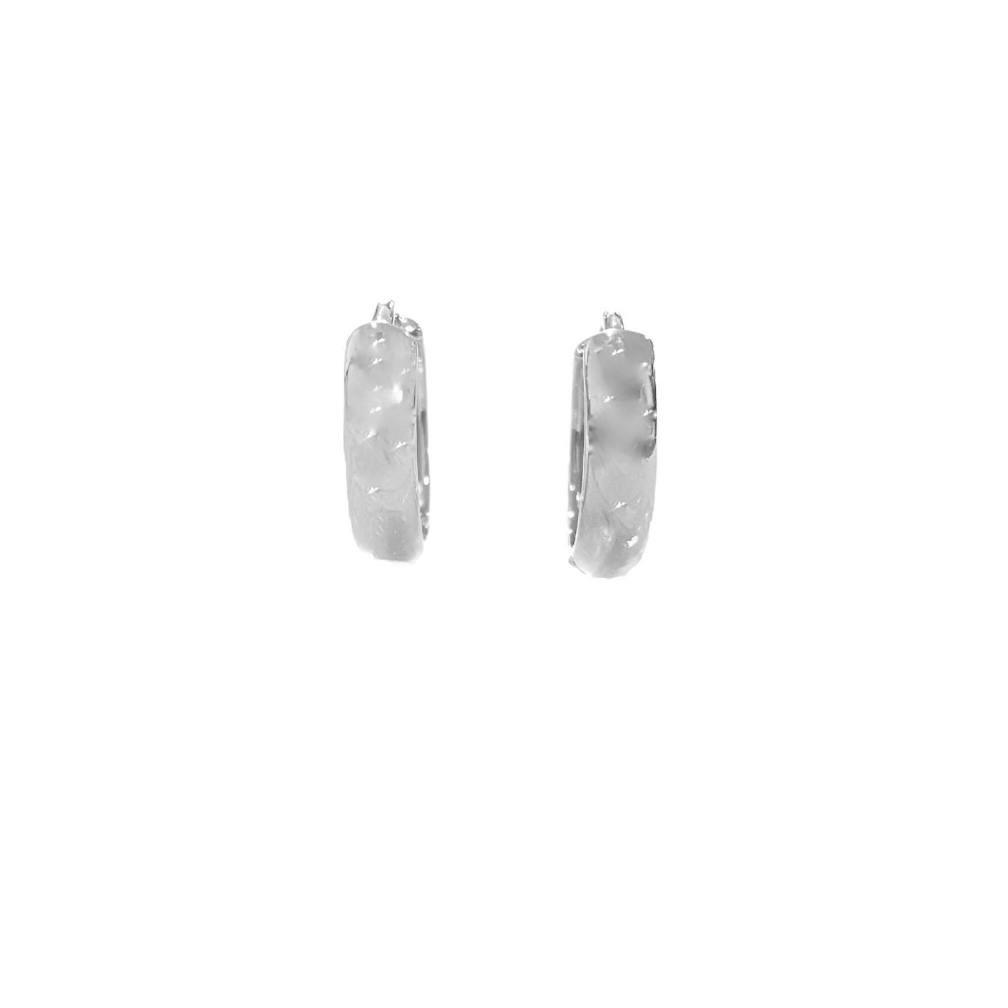 Brinco Argola Anatômica PP (Banho Prata 925) (Piercing Hélix)