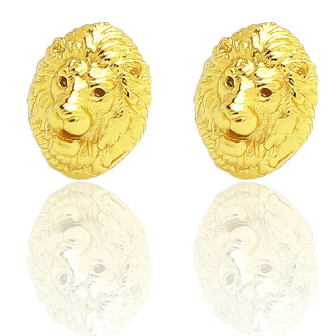 Brinco Leão (Banho Ouro 24k)