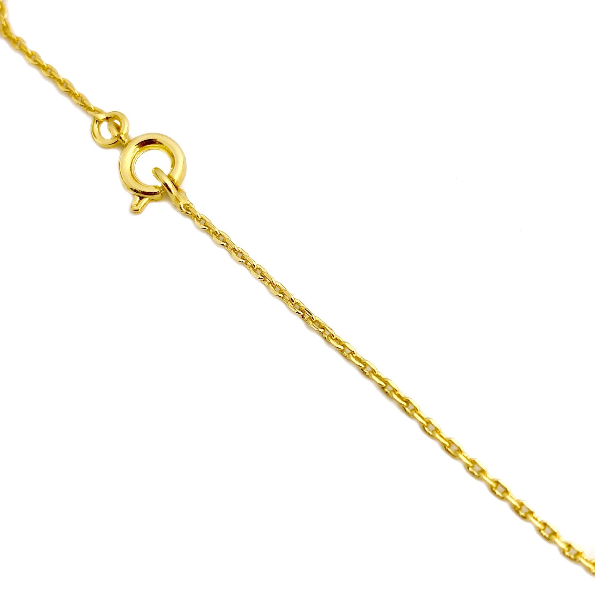 Corrente Carrier Cadeado 1,2mm 40cm (Fecho Tradicional) (Banho Ouro 24k)