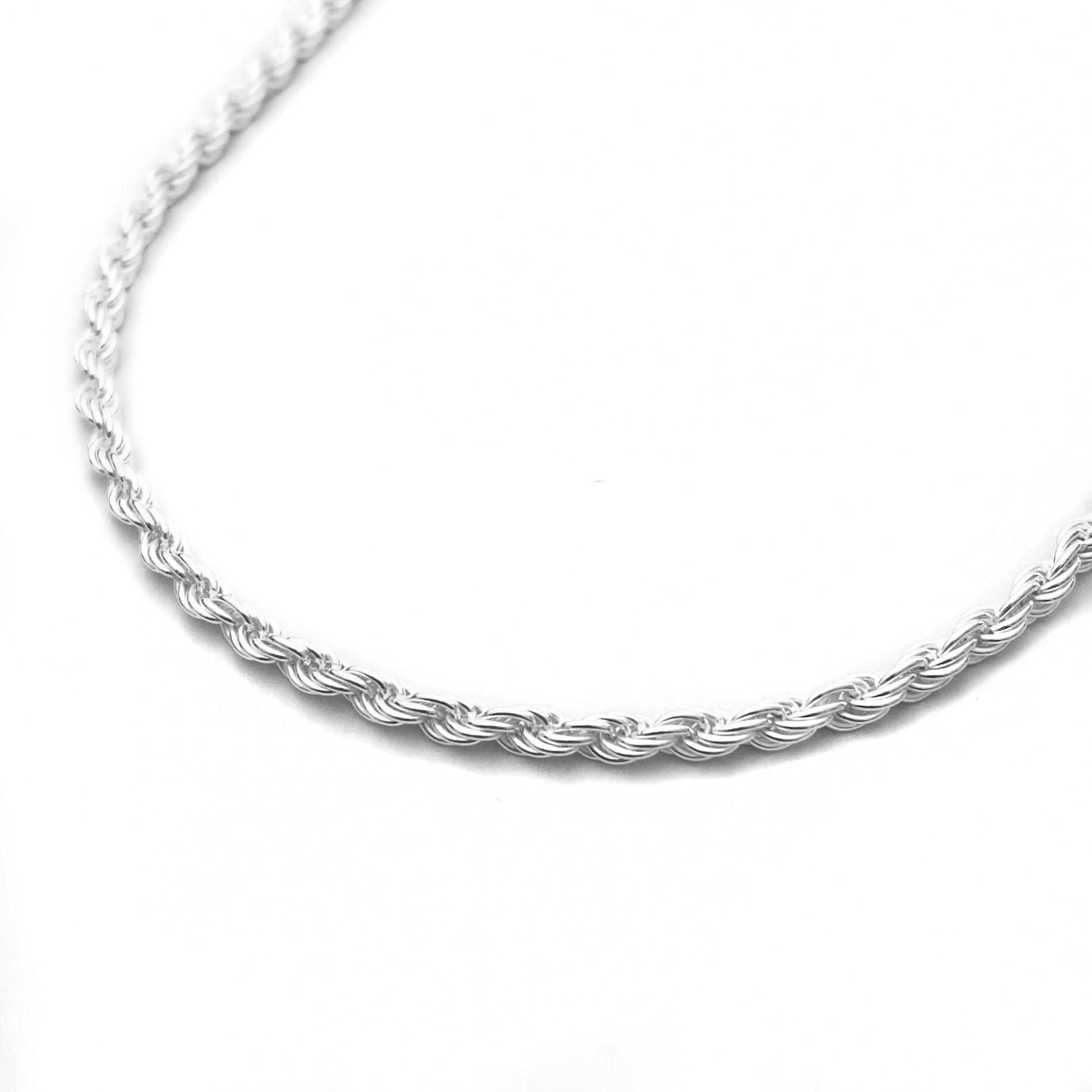 Corrente Cordão Baiano 3mm 70cm (20,4g) (Prata 925 Italiana)
