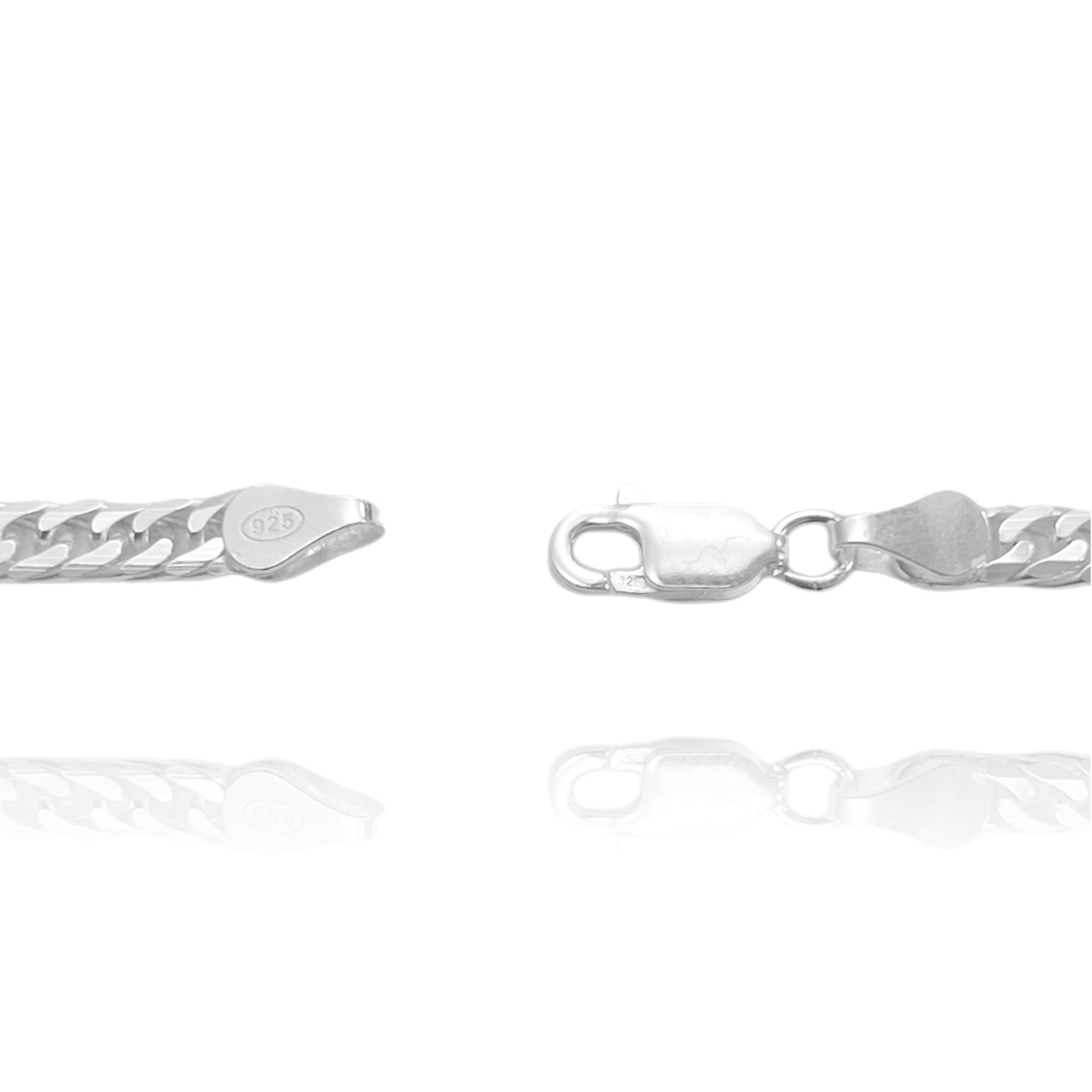 Corrente Double Grumet 3,5mm 70cm (17g) (Prata 925 Italiana)
