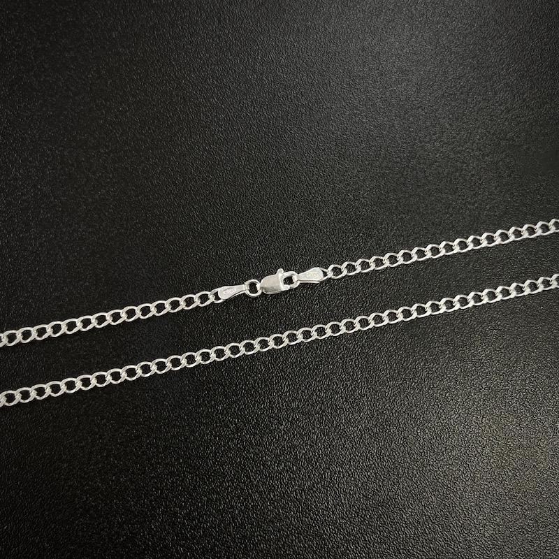 Corrente Grumet 3mm 70cm (7,5g) (Prata 925 Italiana)
