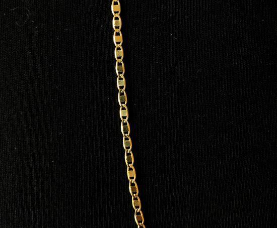 Corrente Piastrine 2mm 70cm (Fecho Tradicional) (Banho Ouro 24K)