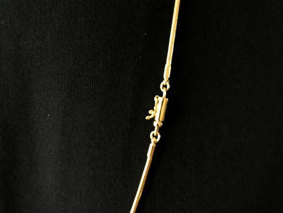 Corrente Rabo de Rato Tradicional 2mm 70cm (12g) (Fecho Canhão) (Banho Ouro 24k)