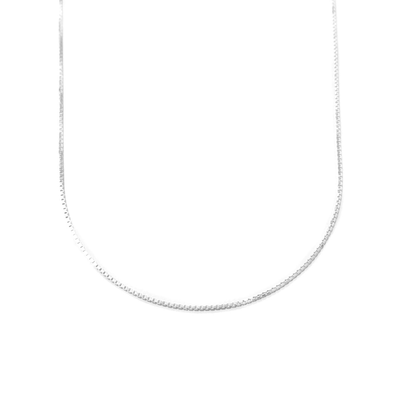 Corrente Veneziana 1,2mm 50cm (Prata 925 Italiana)