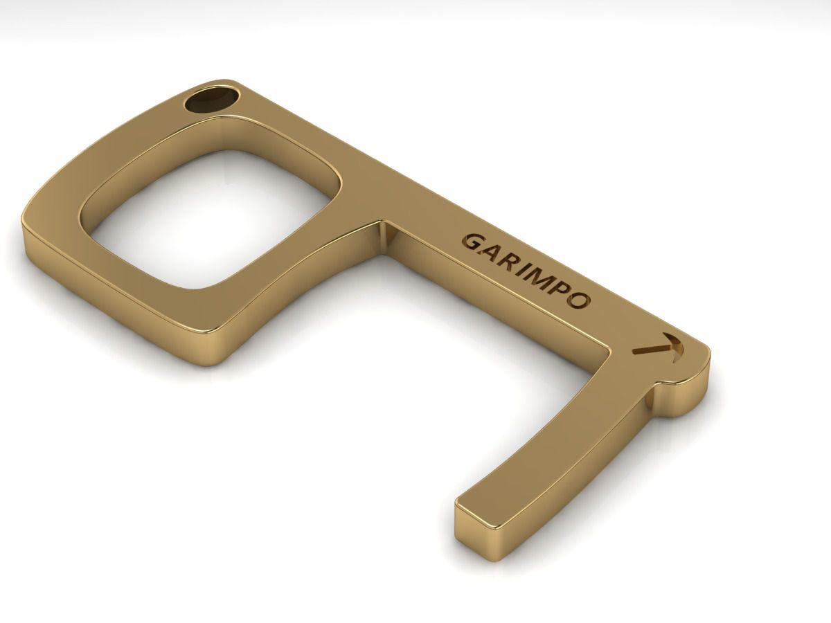 Key Touch GDO (Chaveiro Antimicrobiano) 5 Unidades (Brinde Solidário- VALOR 100% CONVERTIDO EM DOAÇÃO)