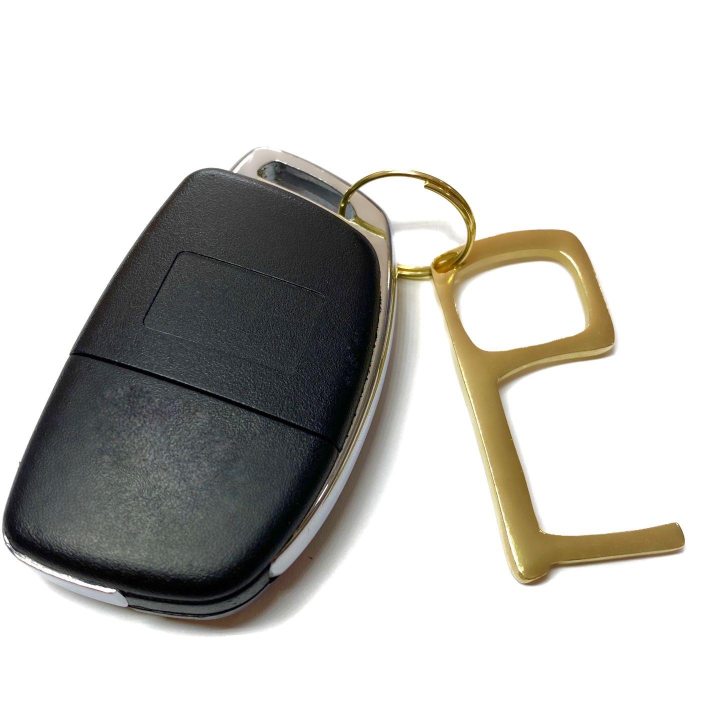 Key Touch GDO (Chaveiro Antimicrobiano) 2 Unidades (Brinde Solidário- VALOR 100% CONVERTIDO EM DOAÇÃO)