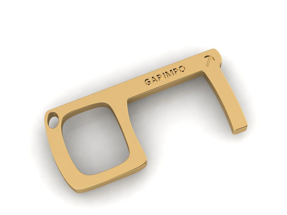 Key Touch GDO (Chaveiro Antimicrobiano) 1 Unidade (Brinde Solidário- VALOR 100% CONVERTIDO EM DOAÇÃO)
