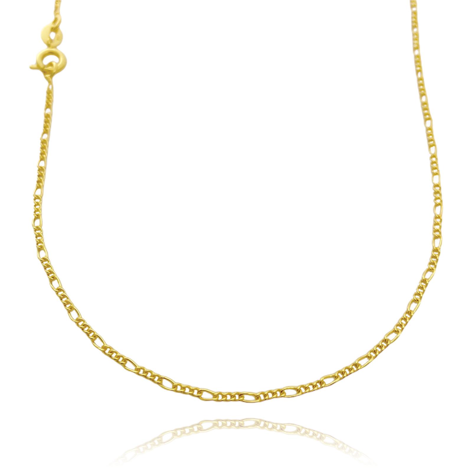 kit Corrente 3 por 1 1,6mm 40cm (Fecho Tradicional) + Pingente Medalha Mandala Cravejado em Zircônia 1,5cm X 1,5cm