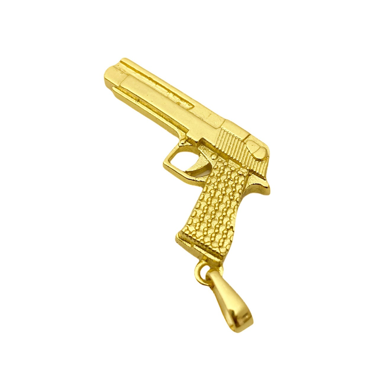 "Pingente Arma ""Desert Eagle .50"" 3,0cm X 2,1cm"