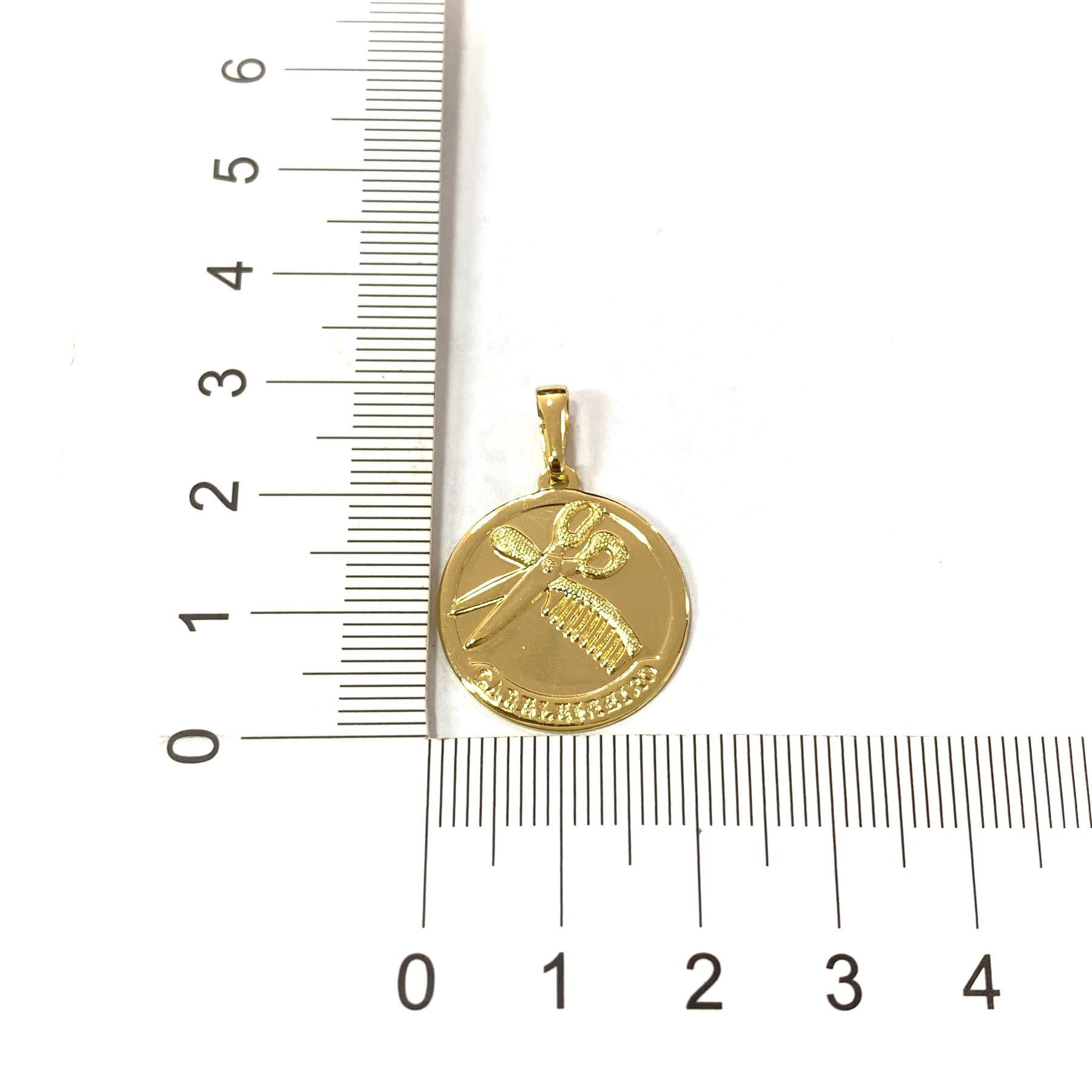 Pingente Cabeleireiro 2cm X 2cm
