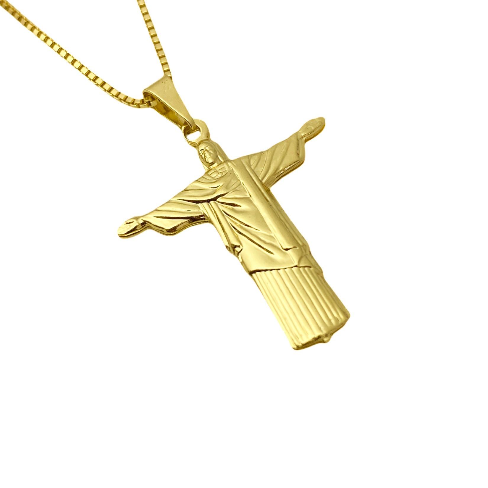 Pingente Cristo Redentor 3,1cm X 2,5cm