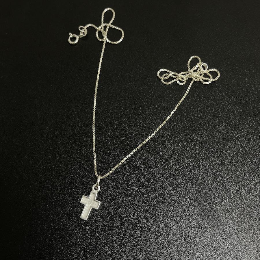 Pingente Crucifixo (1,7cmX1cm) (Prata 925 Maciça)