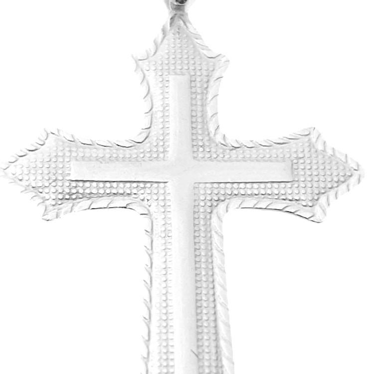 Pingente Crucifixo 3,2cm X 2cm (Prata 925 Italiana)