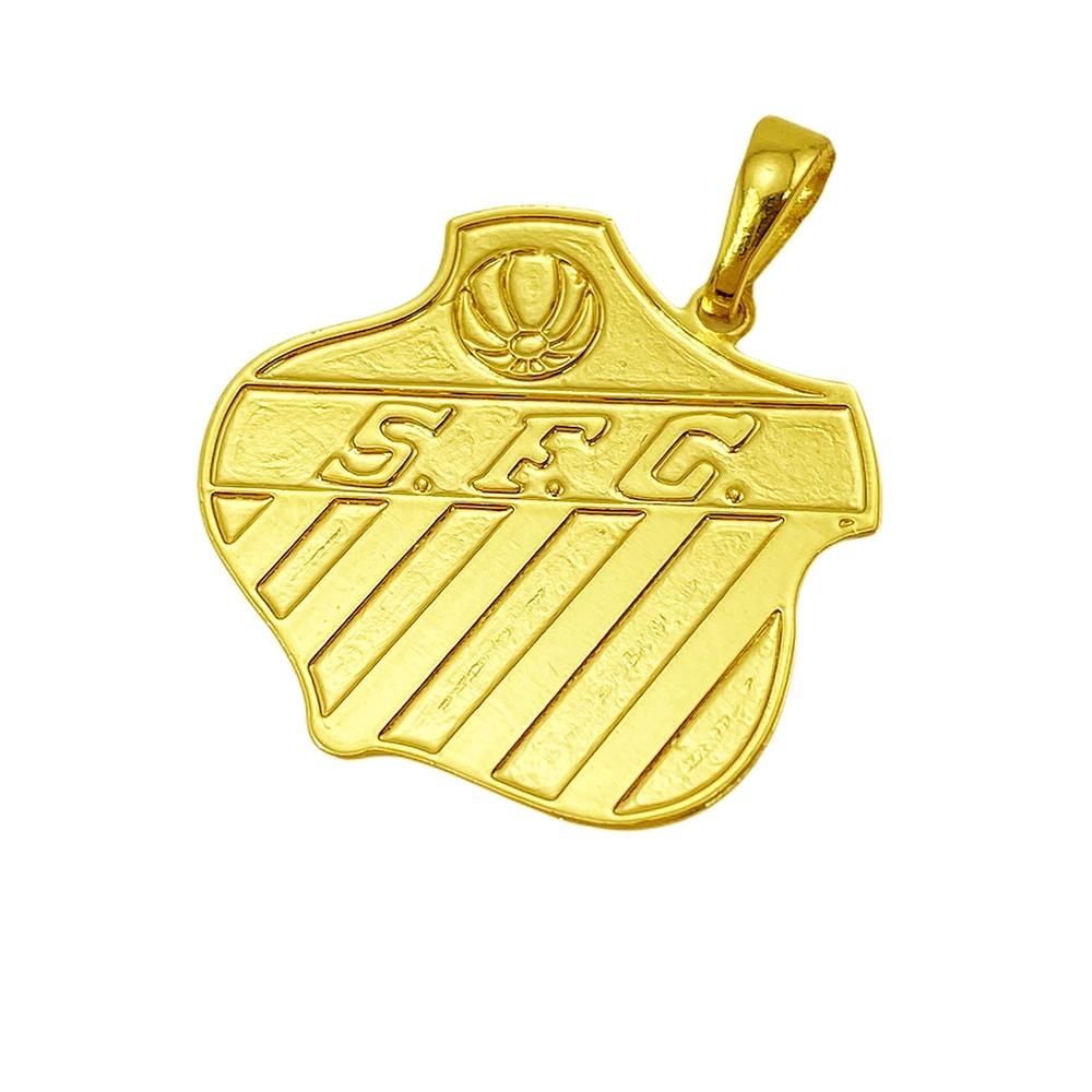 Pingente de Time (12) (2,2cmX2,3cm) (Banho Ouro 24k)