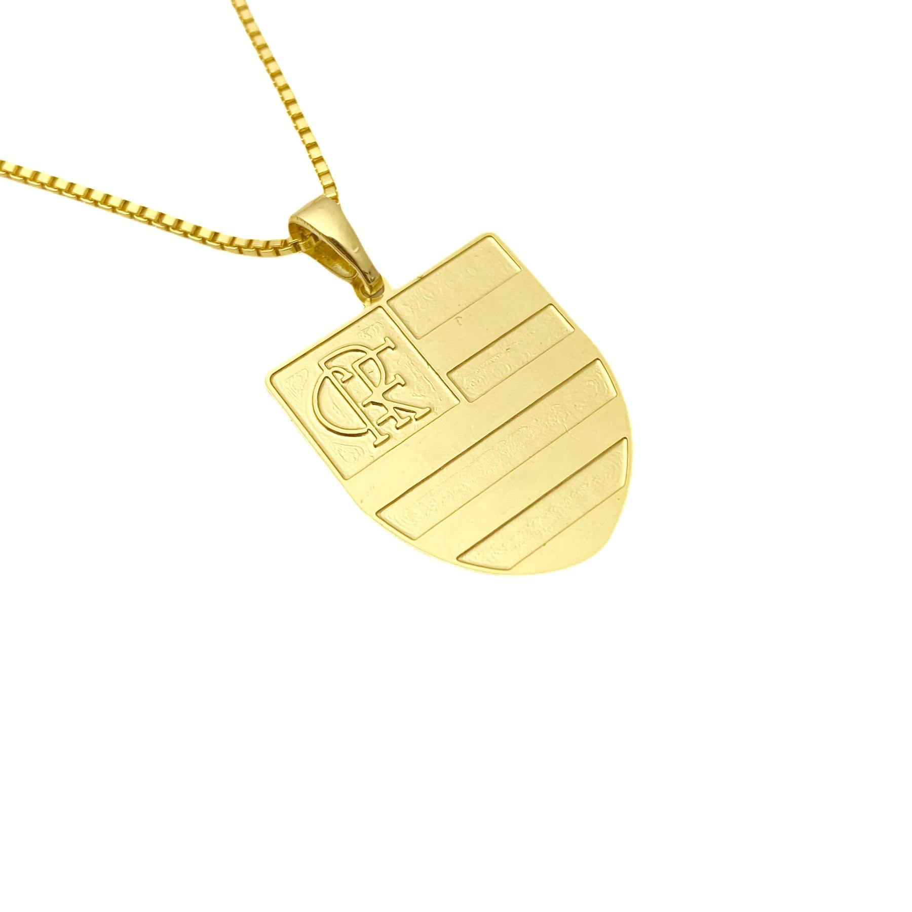 Pingente Time (2) (2,5cmX1,9cm) (Banho Ouro 24k)