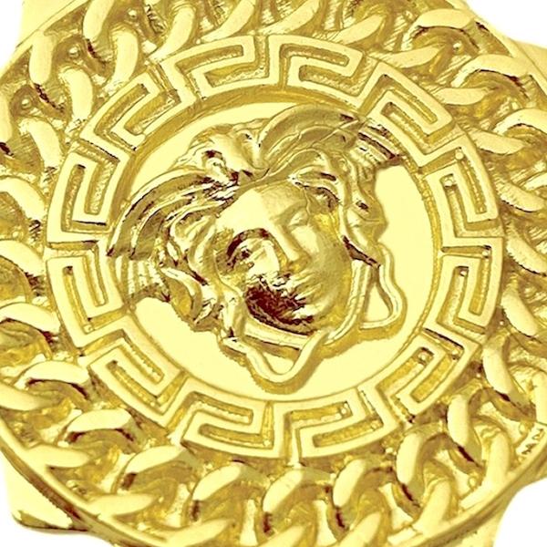 Pingente Medusa Sun (3,1cmX2,9cm) (Banho Ouro 24k)