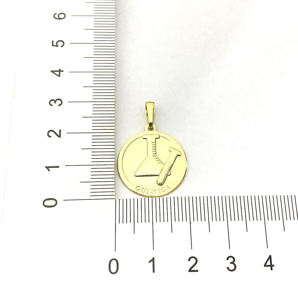 Pingente Química 2cm X 2cm