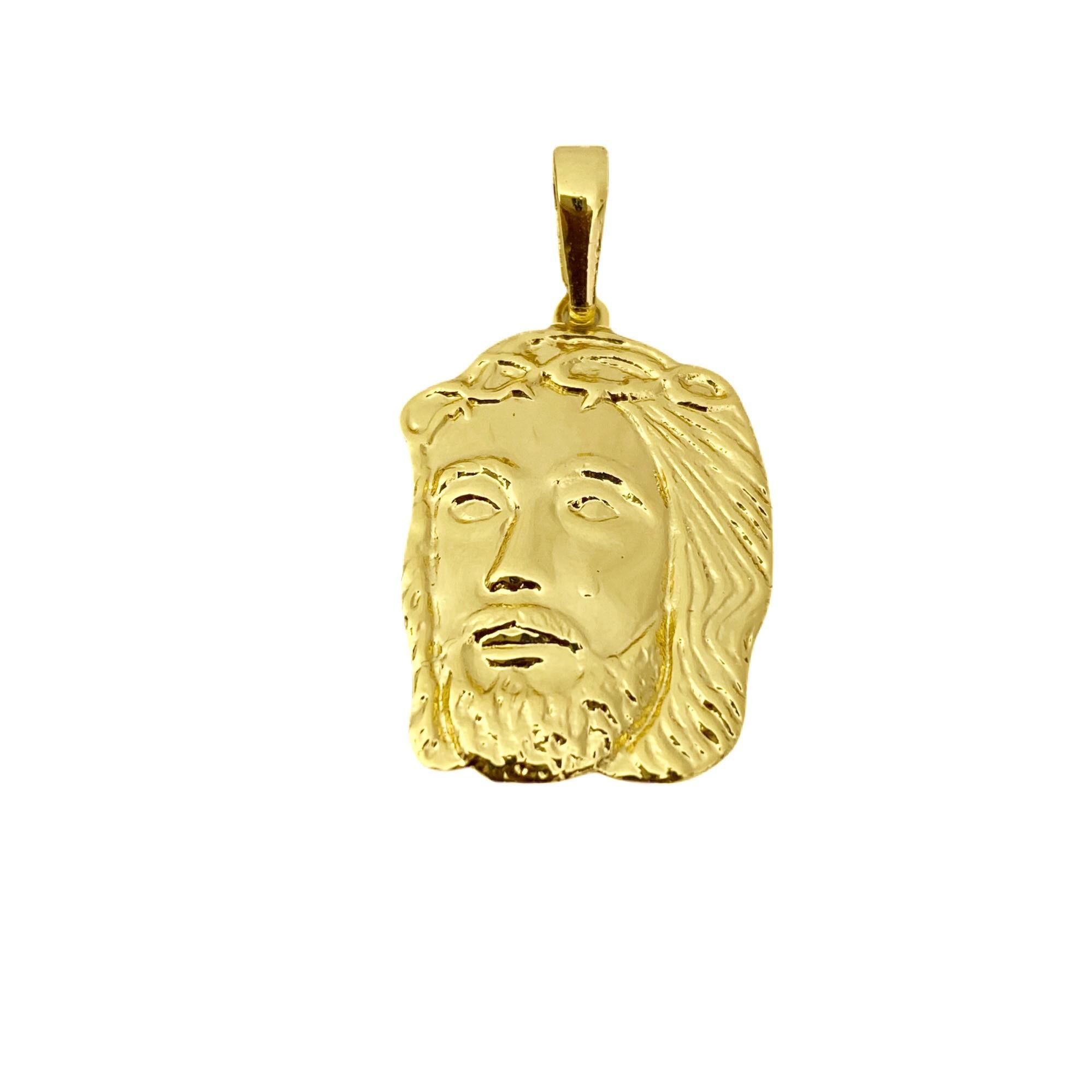 Pingente Rosto de Cristo 2,5cm X 1,7cm M