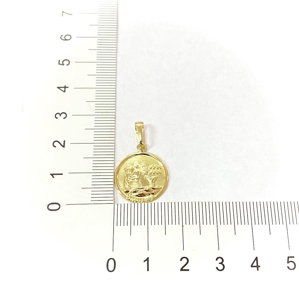 Pingente Signo Aquário 1,5cm X 1,5cm