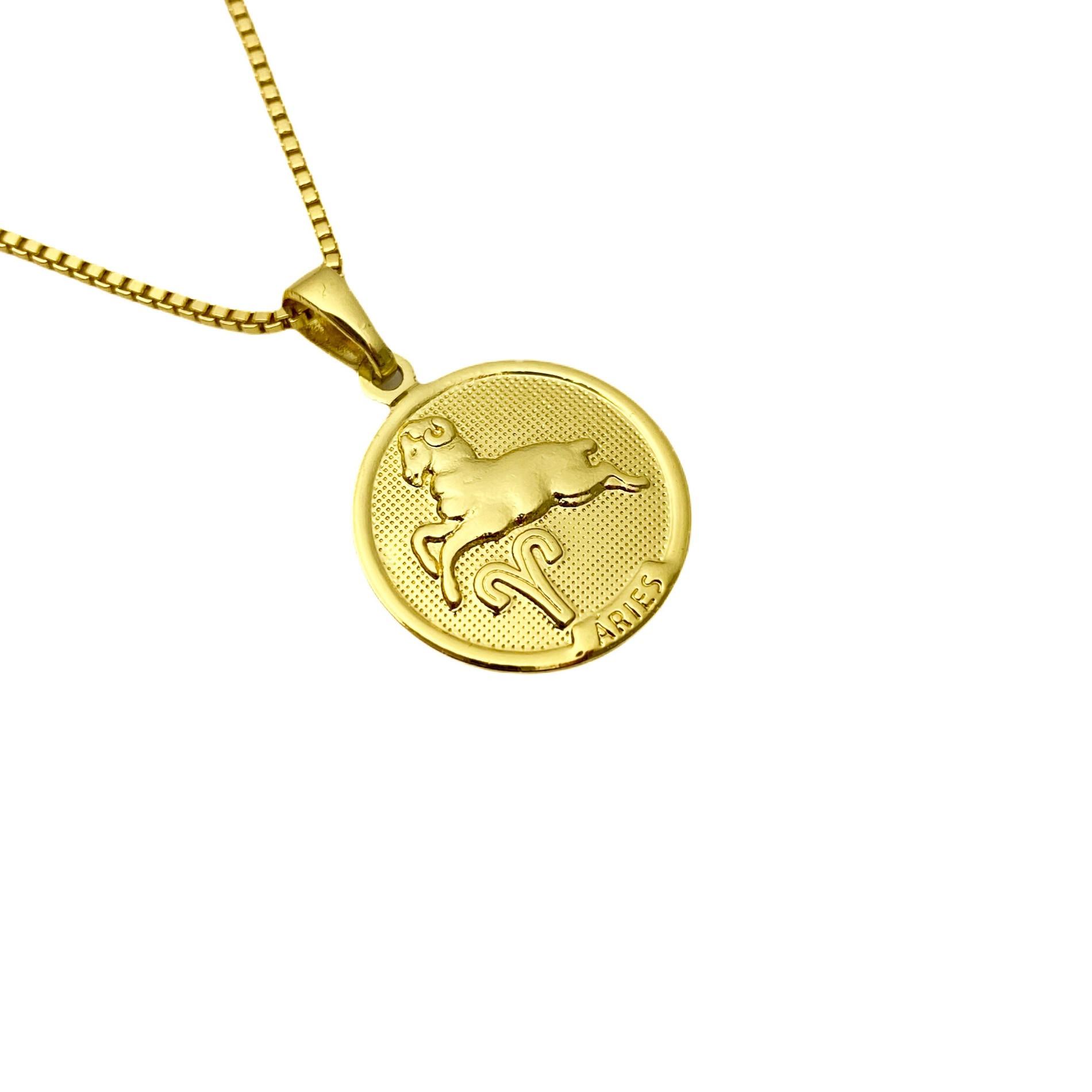 Pingente Signo Aries 1,5cm X 1,5cm
