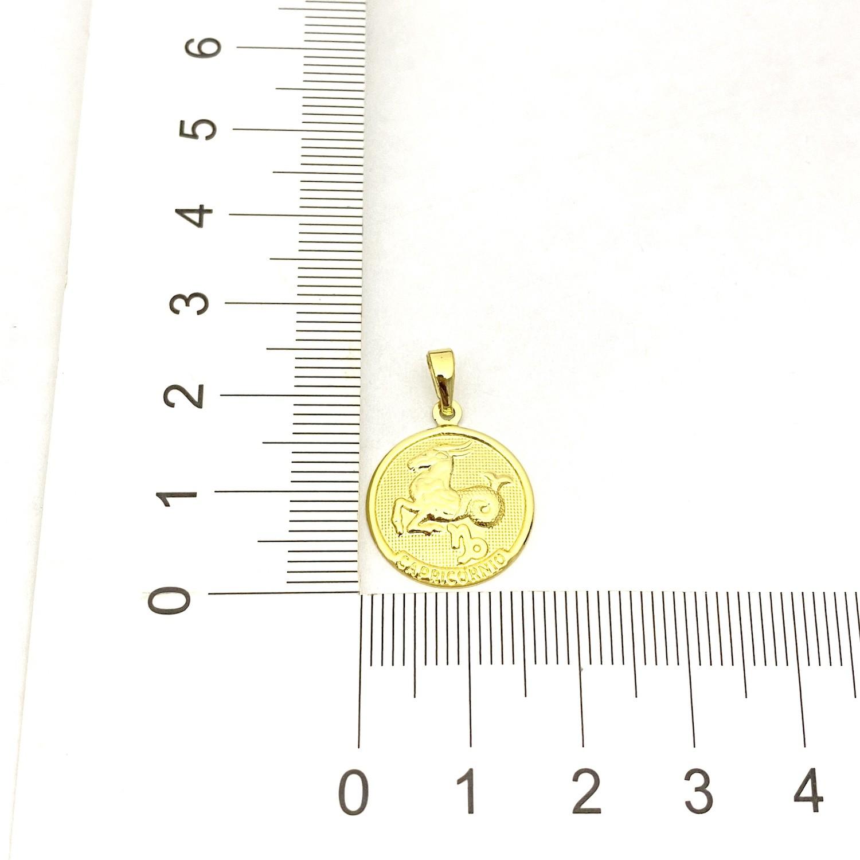 Pingente Signo Capricórnio 1,5cm X 1,5cm
