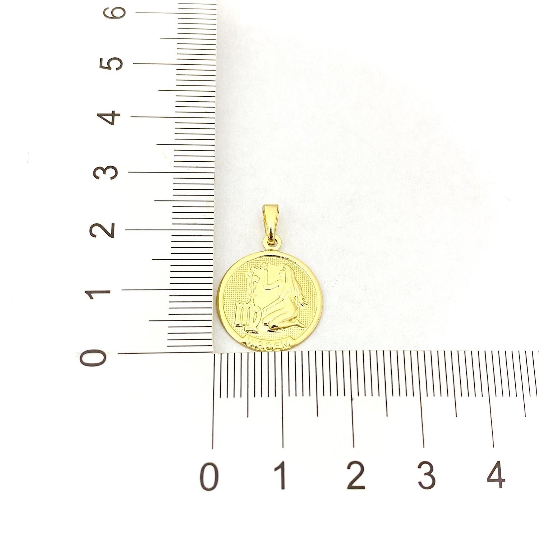 Pingente Signo Virgem 1,5cm X 1,5cm
