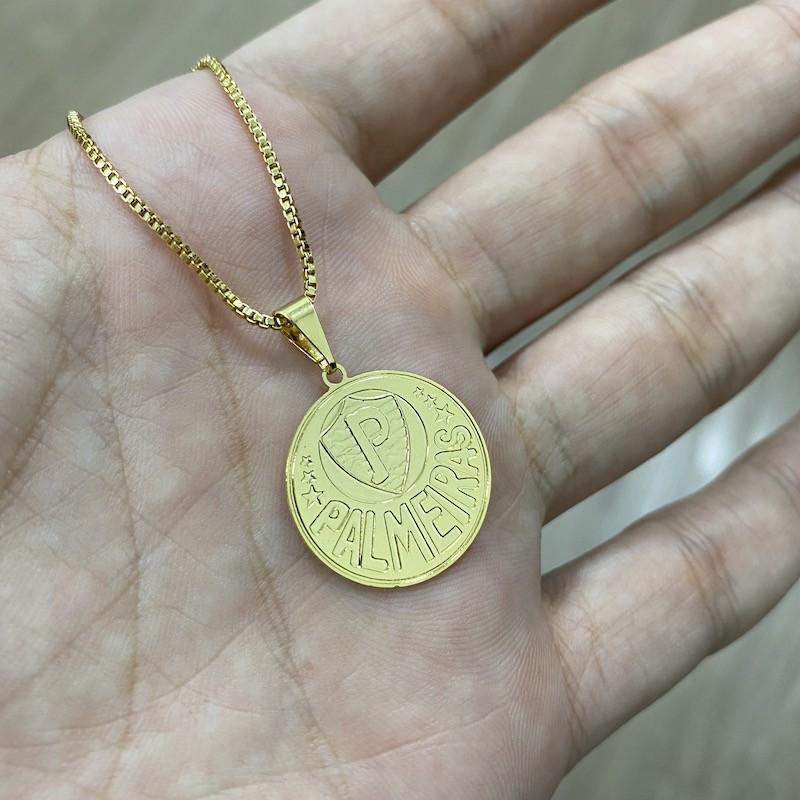 Pingente Time (4) (2,3cmX2,2cm) (Banho Ouro 24k)