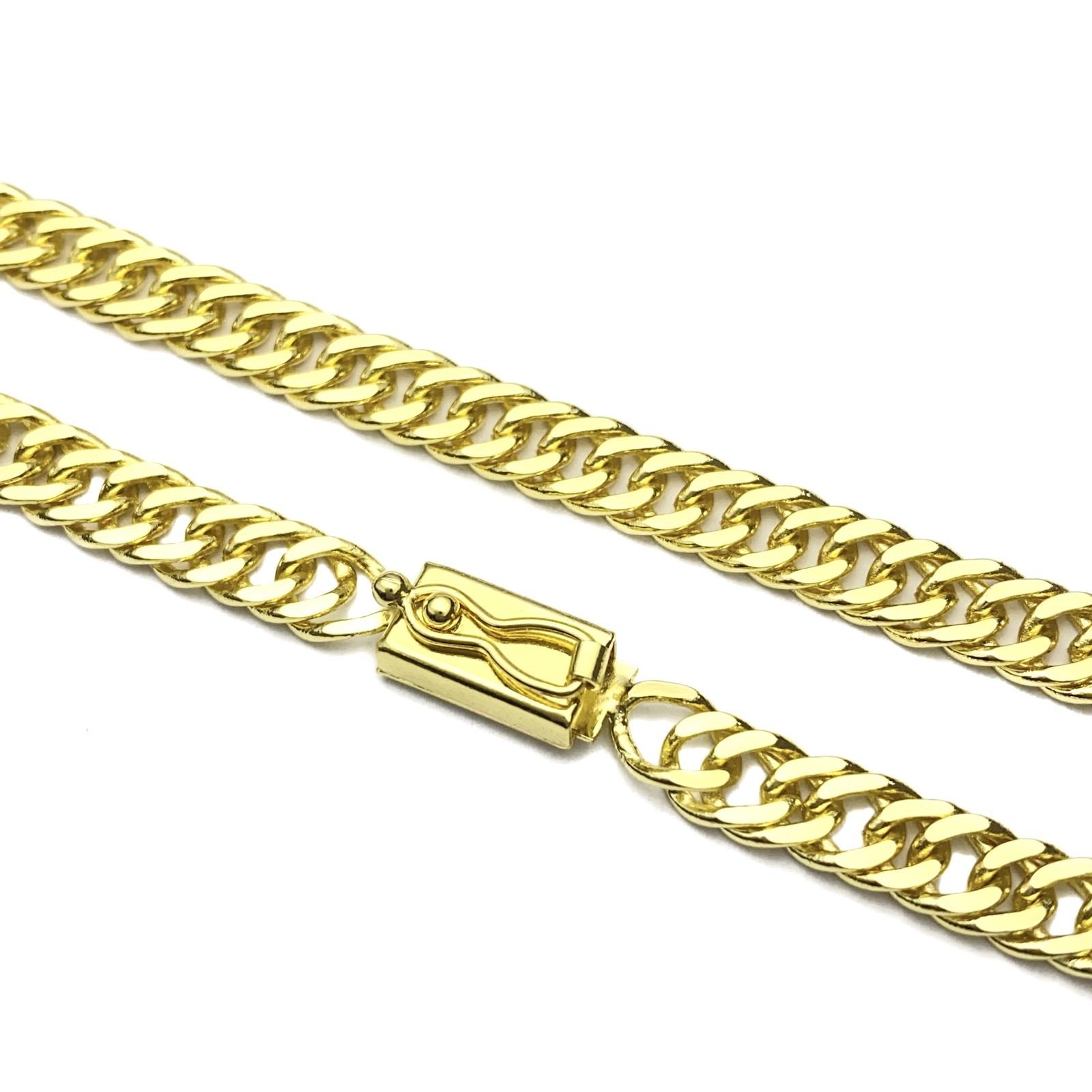 Pulseira Double Grumet 6mm 10g (Fecho Gaveta) (Banho Ouro 24k)