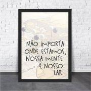 Não Importa Onde Estamos, Nossa Mente é o Nosso Lar