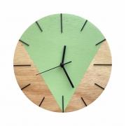 Relógio de Parede Design Triangular - 30cm Lemonade