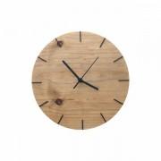 Relógio de Parede Minimalista em Madeira Imbuia