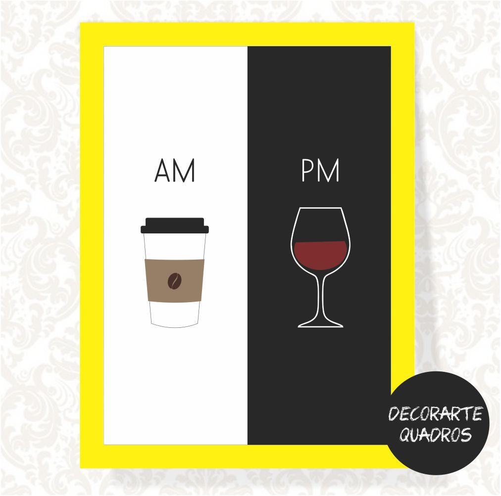 am Café pm Vinho