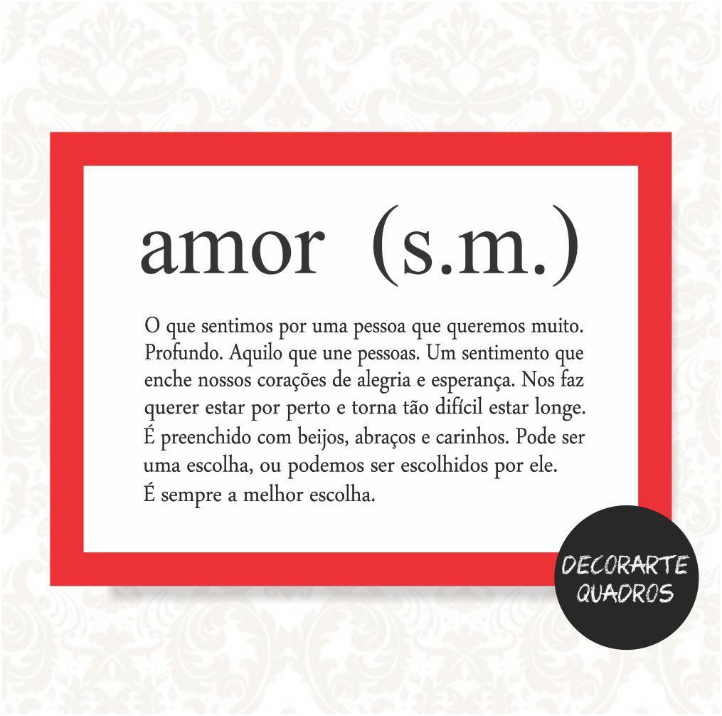Amor (s.m.)