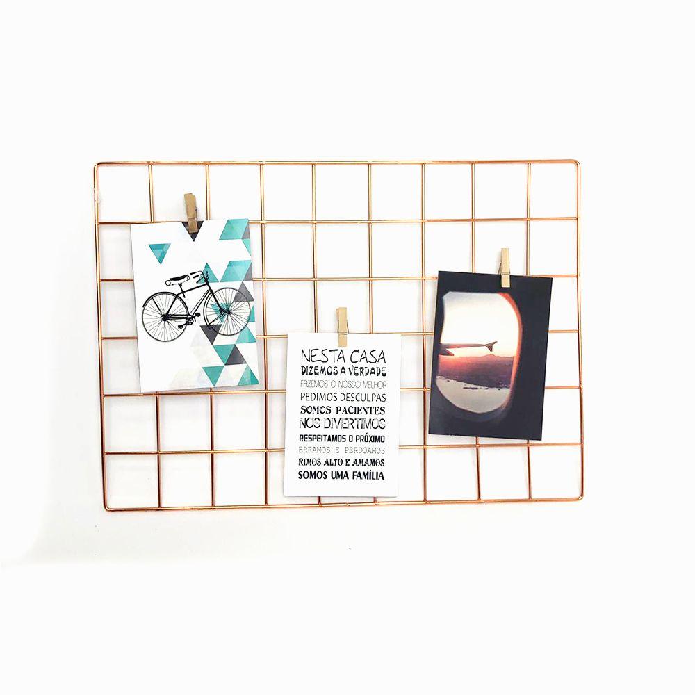 Aramado Memory Board Rosê Gold