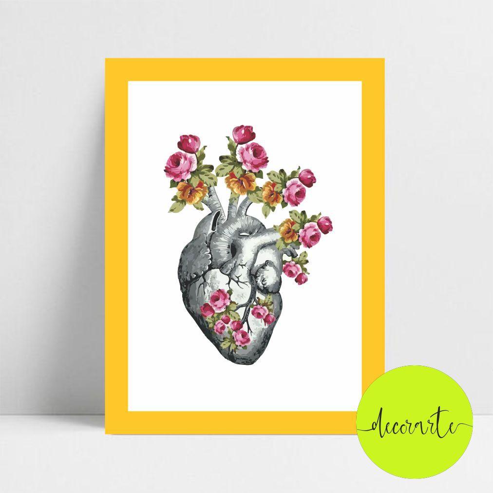 Coração Flores