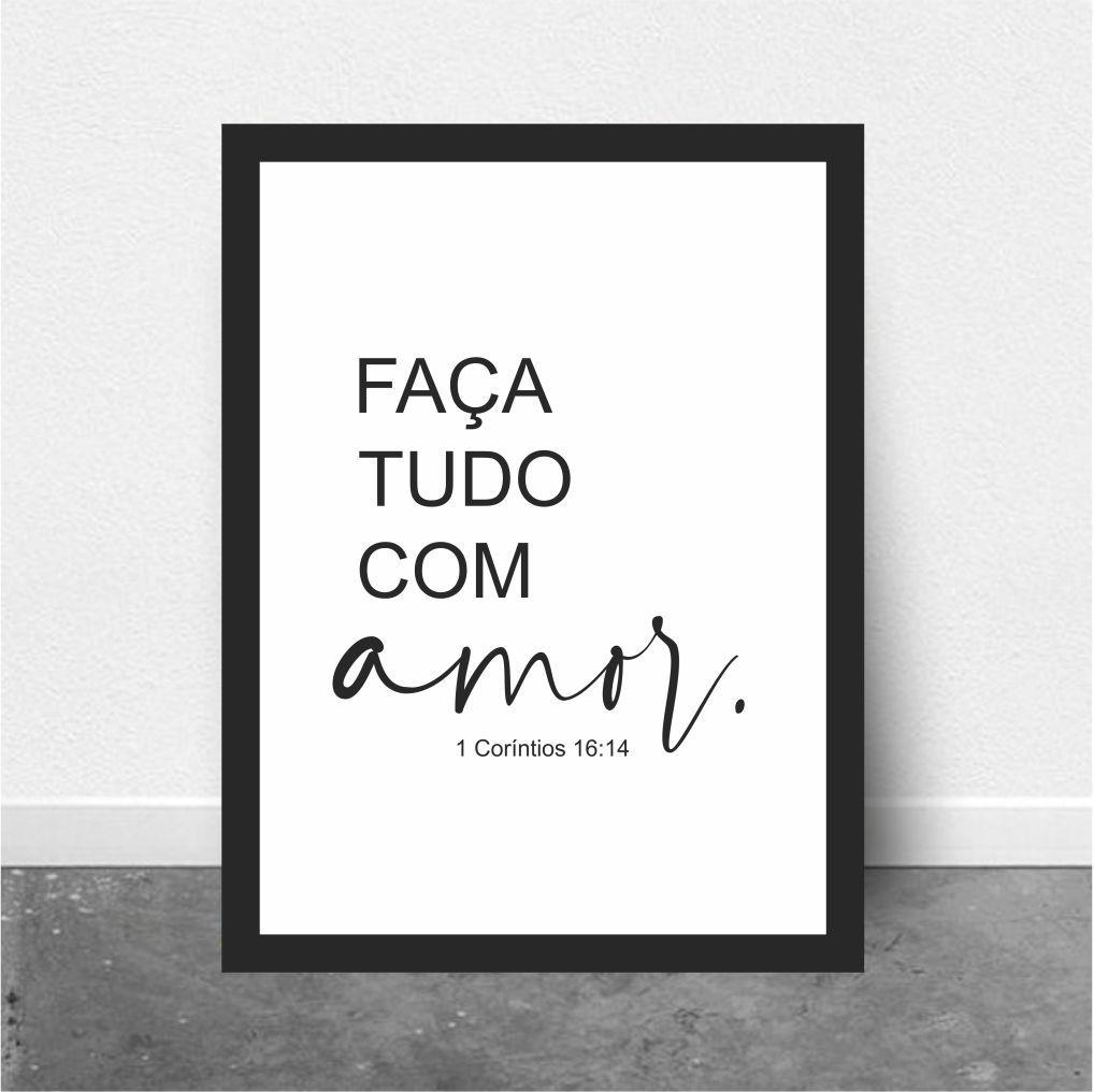 FAÇA TUDO COM AMOR - 1 CORINTIOS 16:14