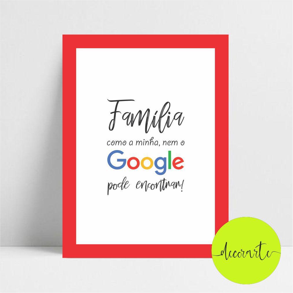 Família Como a Minha Nem o Google Pode Encontrar