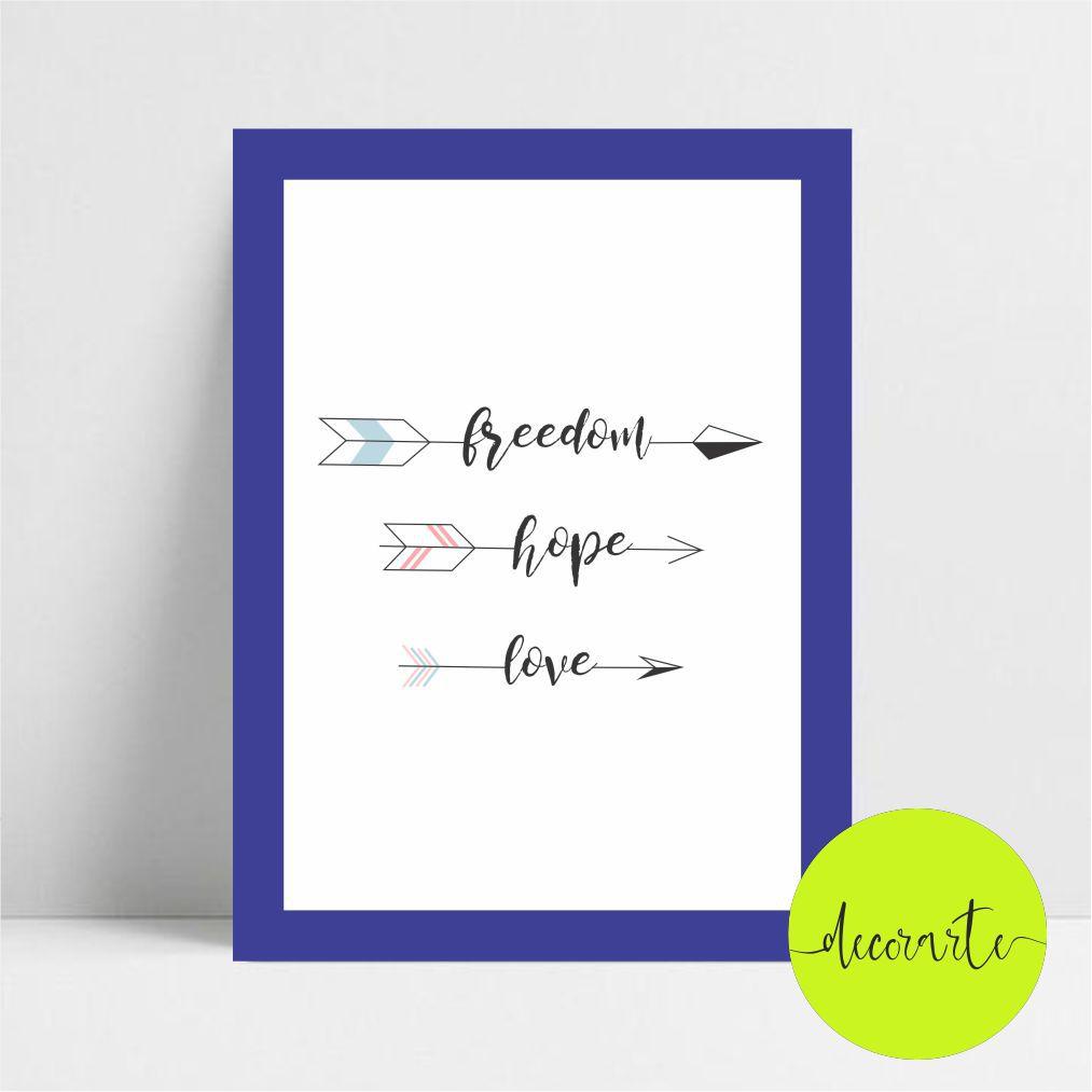 FREEDOM HOPE LOVE